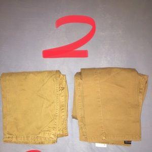 Levi's 2pair Men's Khaki/Timber Jeans Size 30 x 30